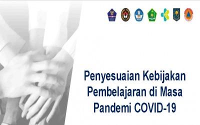 Penyesuaian Kebijakan Pembelajaran di Masa Pandemi COVID-19